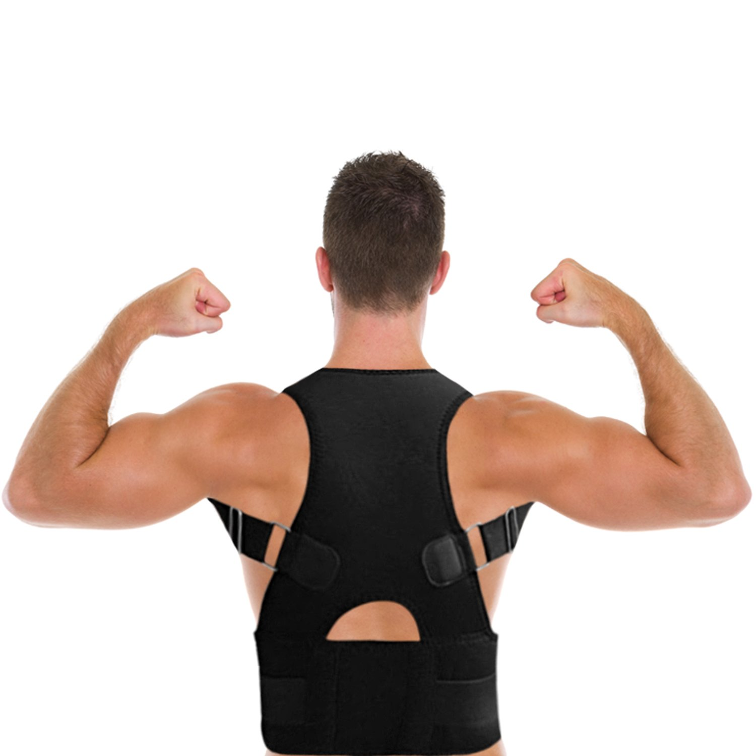 THE BEST POSTURE CORRECTOR By Lightstep (Black-X Large) Support and Brace Your Shoulders and Back Get Rid of Back, Neck and Shoulder Pain