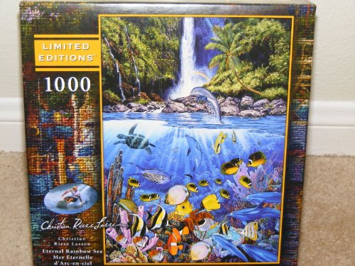 Christian Riese Lassen**ETERNAL RAINBOW SEA**1000 piece Jigsaw Puzzle - 1
