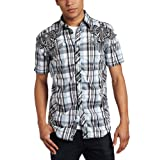 Roar Men's Revealed Yarn Dye Shirt