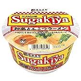 カップ SUGAKIYAラーメン 98g×12食