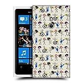 Head Case Designs ミュージック・ジャンル 棒人間 スナップオン ハードケース Nokia Lumia 800