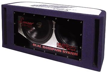 Lanzar HBP212 Subwoofer double Passe-Bande 1200 W 30,5 cm Violet