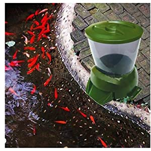 MagicDots Huge 3.8L Digital Aquarium Automatic Fish Food Feeder Large Food Capacity For Pond Big Aquarium
