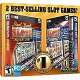 Reel Deal Slots Adventure 2 Pack Jewel Case