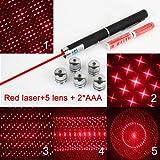 GOREAD L6 light pen in office AAA light pointer star light LED Laser Red Laser with star lens