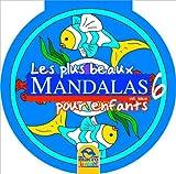echange, troc Collectif - Les Plus Beaux Mandalas pour Enfants - Vol 6 Bleu