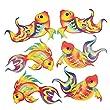 """Chinese New Year Glitter Fish Cutouts (12 Pack) 11"""" X 6 3/4"""""""