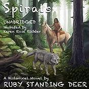 Spirals | Ruby Standing Deer