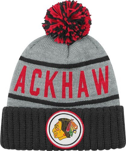 Chicago Blackhawks High 5 Vintage Cuffed Pom Hat at Amazon.com