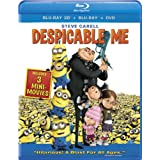 Despicable Me (Blu-ray 3D / Blu-ray / DVD) ~ Steve Carell