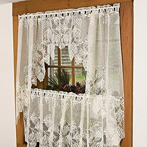 PINE CONE VALANCE CURTAINS - WINDOW TREATMENTS - COMPARE PRICES