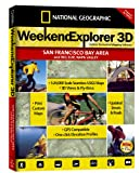 National Geographic TOPO! Weekend Explorer 3D (San Francisco Bay Area, Big Sur, Napa Valley)