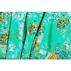 Triveni Chiffon Fabrics (TSFP18_Green)