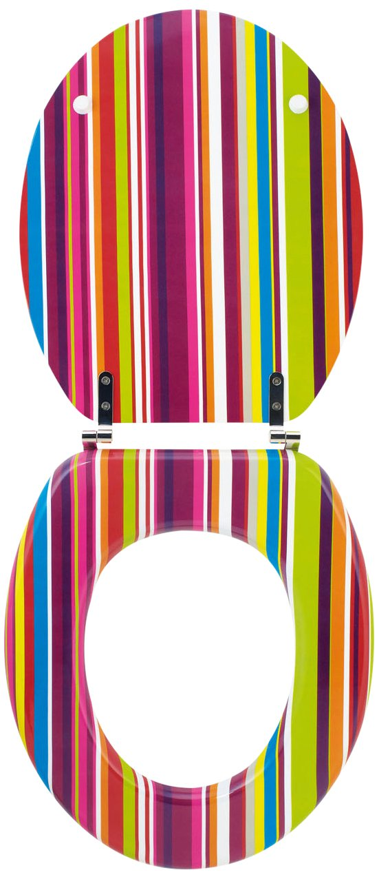 Wirquin Trendy Line Funky 20717964 Toilet Seat       Customer reviews and more information