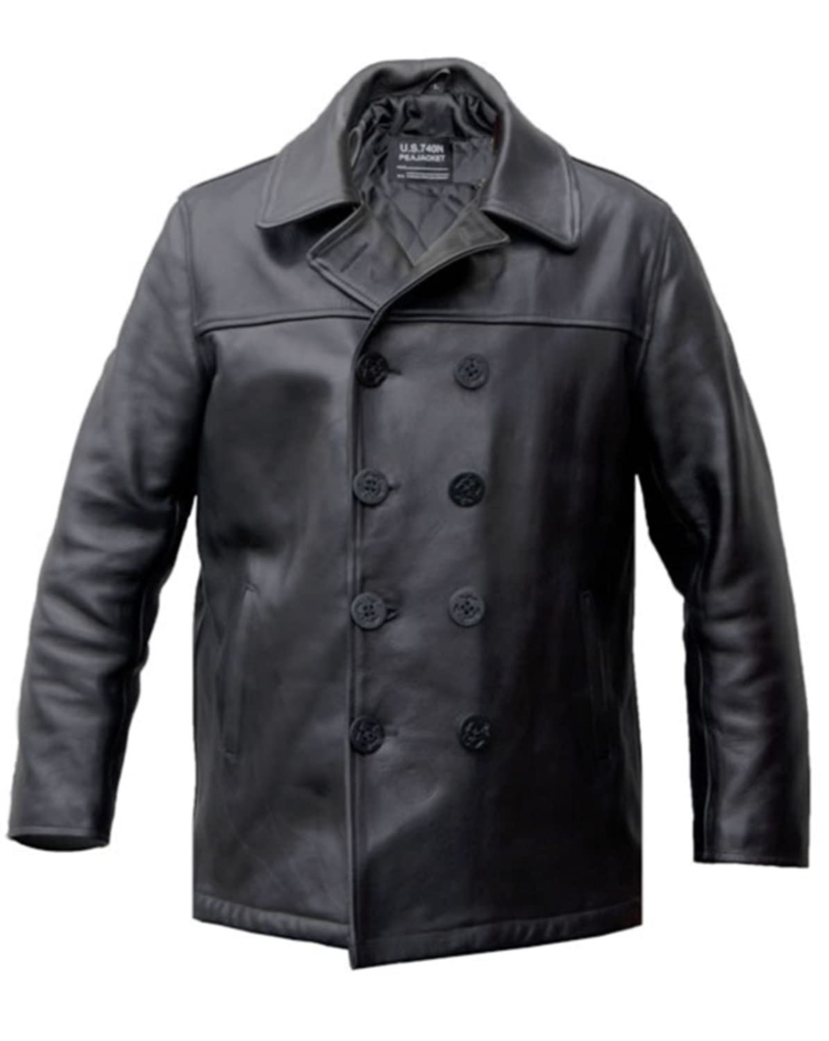 Pea Coat US NAVY Ledermantel kaufen