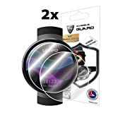 IPG For LEMFO LEM7 SmartWatch Screen Protector (2 Units) Invisible Ultra HD Clear Film Anti Scratch Skin Guard - Smooth/Self-Healing/Bubble -Free By (Color: Clear)