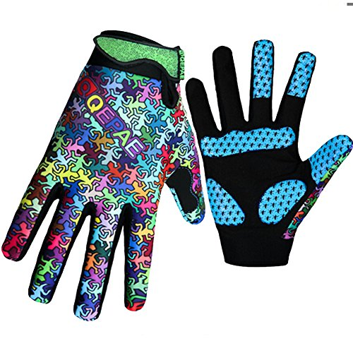 AxiEr Full finger Cycling Gloves MTB DH Downhill Off Road Glove Mittens for Cool Weather