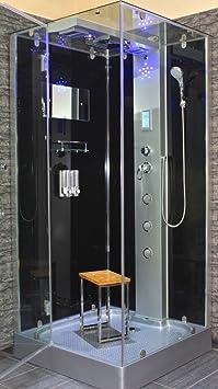 hot hot hot verkauf acquavapore dtp6038 4303l dusche dampfdusche duschtempel duschkabine th. Black Bedroom Furniture Sets. Home Design Ideas