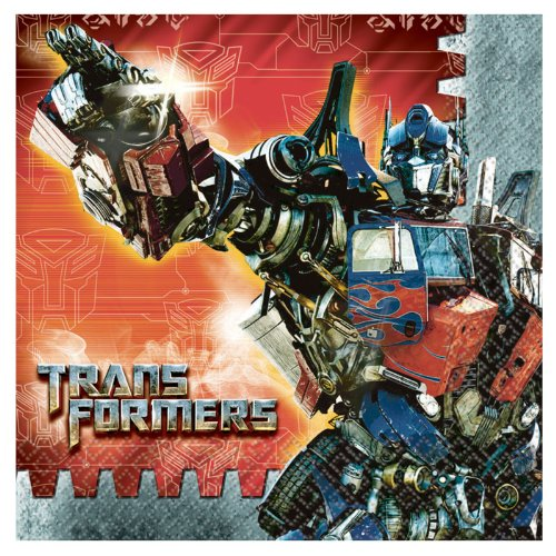 Transformers 'Dark of the Moon' Large Napkins (16ct)