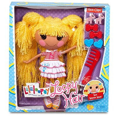 Lalaloopsy Loopy Hair Doll Spot Splatter Splash from MGA Entertainment