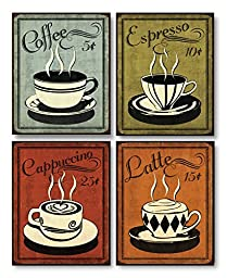 Retro Coffee Set by N. Harbick 8\