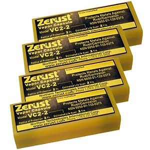 Zerust VC2-2 NoRust Vapor Capsule - Pack of 4 by Zerust