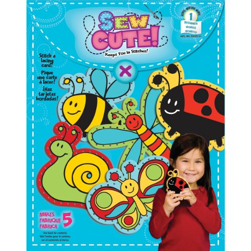 Colorbok Sew Cute Lacing Cards- - 1