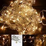 INST 10M 100 Led Fairy String Lights, Idea for Indoor and Outdoor Decorations (Warm White)