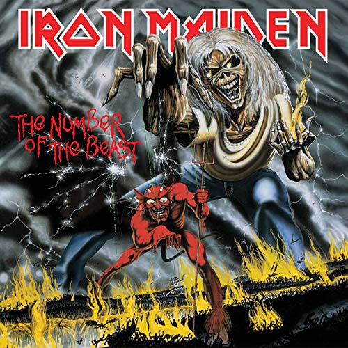 CD : Iron Maiden - Number Of The Beast (CD)