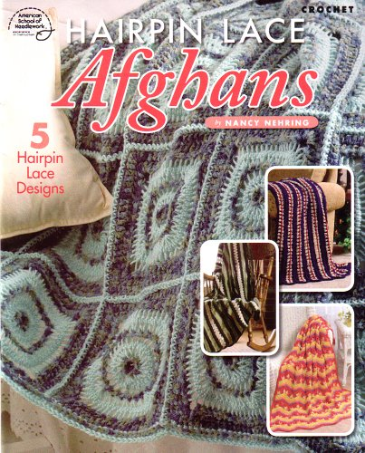 Scraps and Heirlooms Diary: Hairpin Lace Baby Afghan Free Pattern