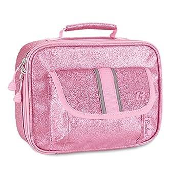 Bixbee Sparkalicious Glitter Lunchbox, Pink