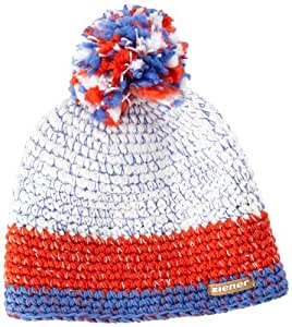 Ziener Idon Bonnet New Red/Blanc FR : S-M (Taille Fabricant : S/M)