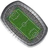 8 Teller * Fussball-Stadion * für Party und Geburtstag // Geburtstag Party Fete Set Fussball Soccer Pappteller Partyteller