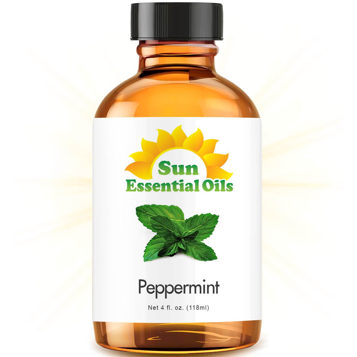 Best Peppermint Oil (Large 4 Ounce) 100% Pure Peppermint Essential Oil (Mentha Piperita)