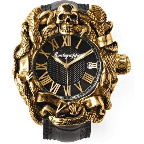 Montegrappa Chaos Gold Automatic Watch