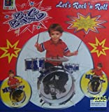 61DfhhiSgOL. SL160  New Child Kid Toy Kids Big Band Drum Set Toy Drum Blue