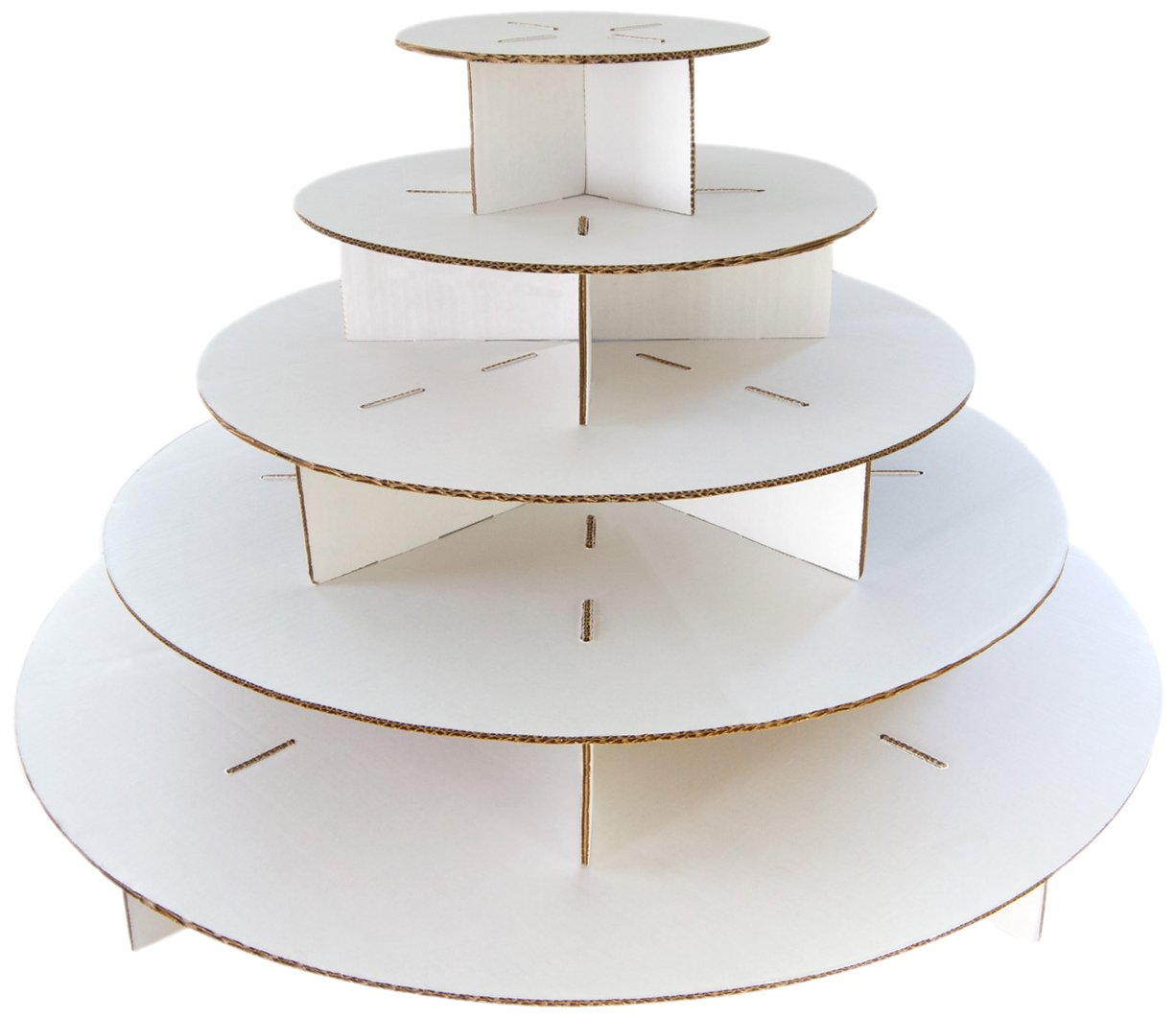 Tier Cardboard Cake Stand