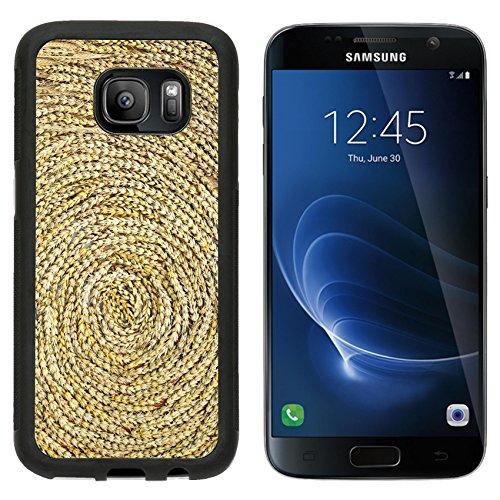 msd-premium-samsung-galaxy-s7-aluminum-backplate-bumper-snap-case-a-golden-weed-weave-art-in-autumn-