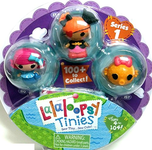 Lalaloopsy Tinies Figures Series 1 (531548) 3 Pack by MGA Entertainment - 1