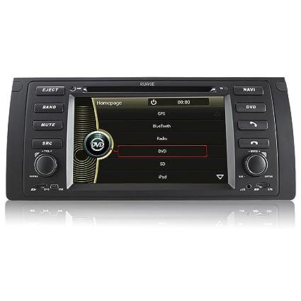 Rupse-Autoradio DVD pour BMW 5 série BMW 5-E39/BMW X5-E53 DVD GPS système de navigation avec écran tactile