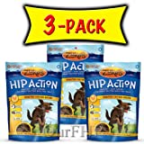 3 PACK HIP ACTION DOG, Color: CHICKEN; Size: 1 POUND (Catalog Category: Dog:TREATS)