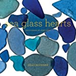 Sea Glass Hearts 2014 Wall Calendar
