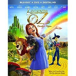 Legends of Oz: Dorothy's Return [Blu-ray]