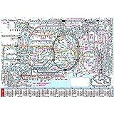 【2016年版・ポスター】 エヌ・プランニング A2 シティーマップ CK−106