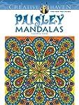 Paisley Mandalas Coloring Book