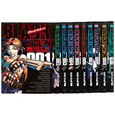 BLACK LAGOON ���ߥå� 1-10�����å� (����ǡ�GX���ߥå���)