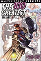 Marvel Comics Presents The 100 Greatest…