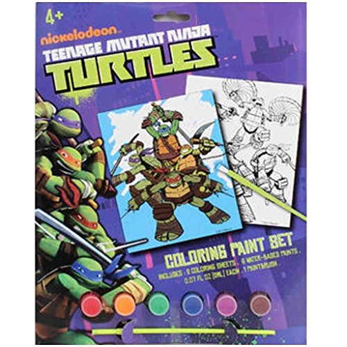 Teenage Mutant Ninja Turtles Coloring Paint Set - 1