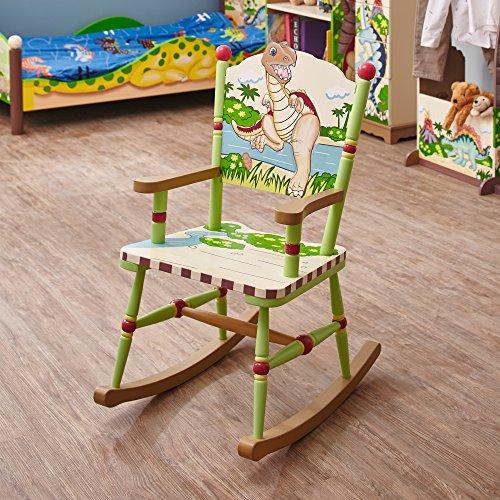 Kingdom Thematic Kids Wooden Rocking Chair  Imagination Inspiring ...