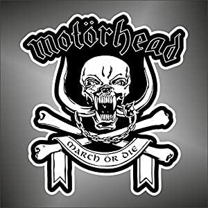 Adesivo Motorhead hip hop rap jazz hard rock pop funk sticker   recensione